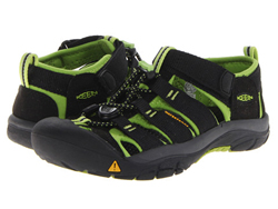 KEEN Newport H2 K black/lime US11/EU29/18 cm